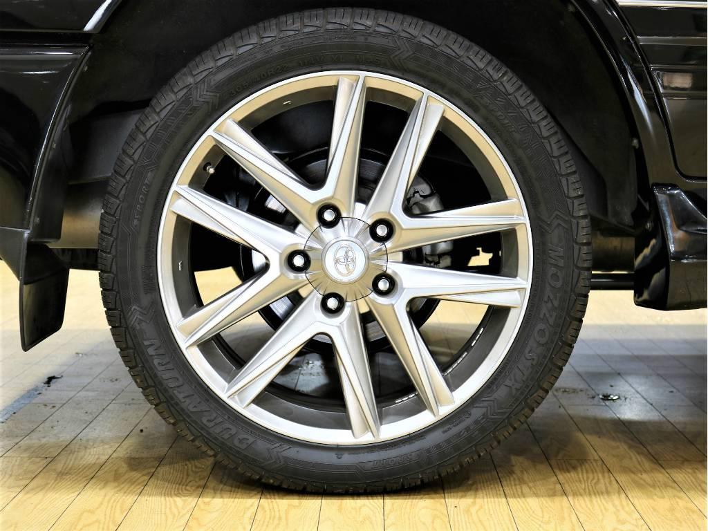 LXタイプ22インチAW! | トヨタ ランドクルーザーシグナス 4.7 4WD プッシュスタート セキュリティー