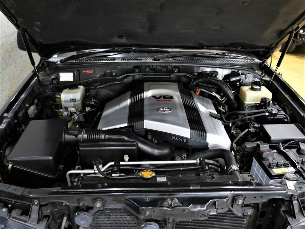 4700CCのV8エンジン! | トヨタ ランドクルーザーシグナス 4.7 4WD プッシュスタート セキュリティー