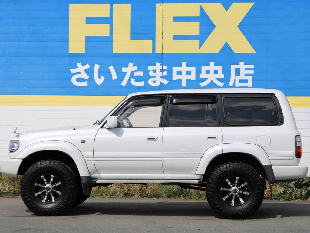 北海道から沖縄県まで全国へ陸送可能です!遠方の方からのお問い合わせもお待ちしております! | トヨタ ランドクルーザー80 4.5 VXリミテッド 4WD 中期 3インチアップ