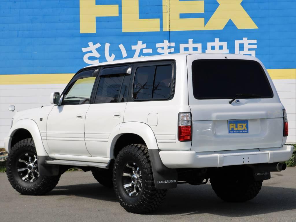 | トヨタ ランドクルーザー80 4.5 VXリミテッド 4WD 中期 3インチアップ