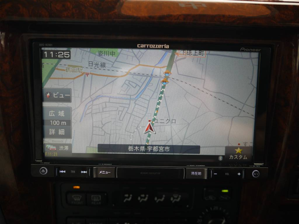 新品地デジ対応ナビ!DVD再生、Bluetooth接続も可能です! | トヨタ ランドクルーザープラド 2.7 TX リミテッド 4WD クラシックスタイル