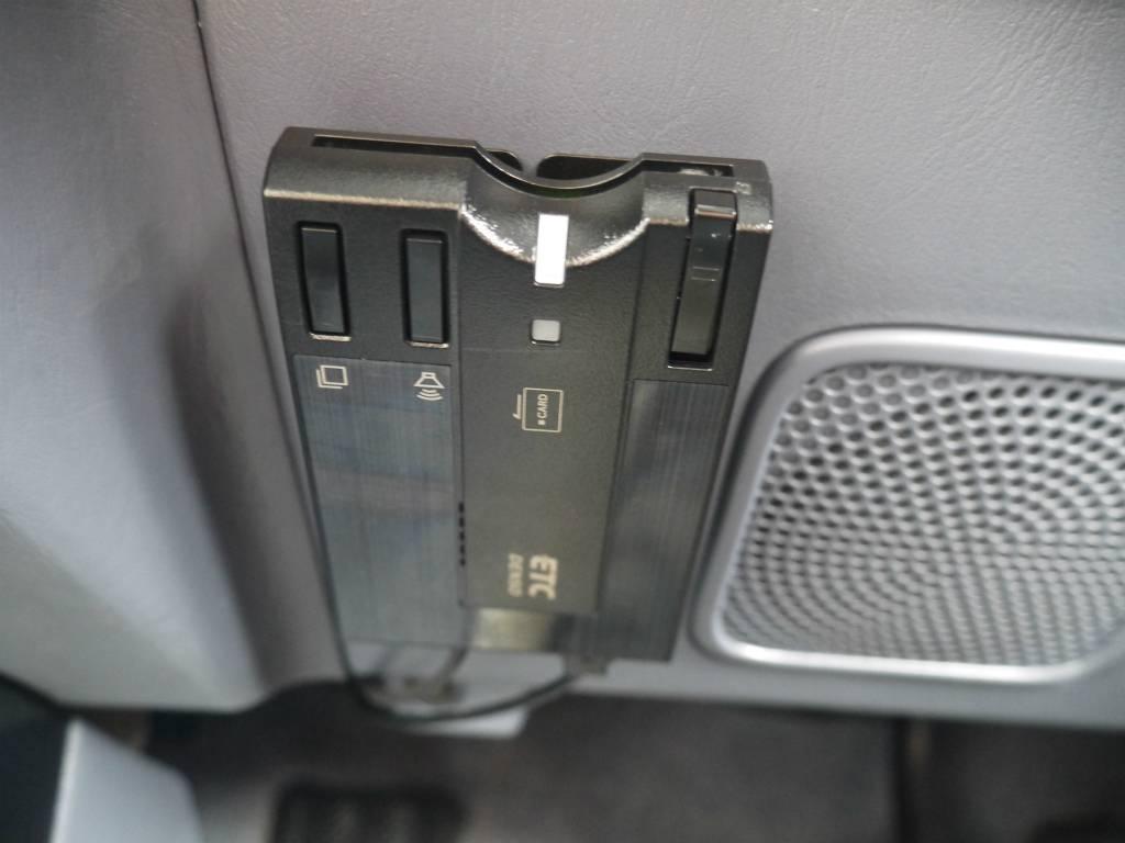 分離型ETCも装備しております! | トヨタ ランドクルーザープラド 2.7 TX リミテッド 4WD クラシックスタイル