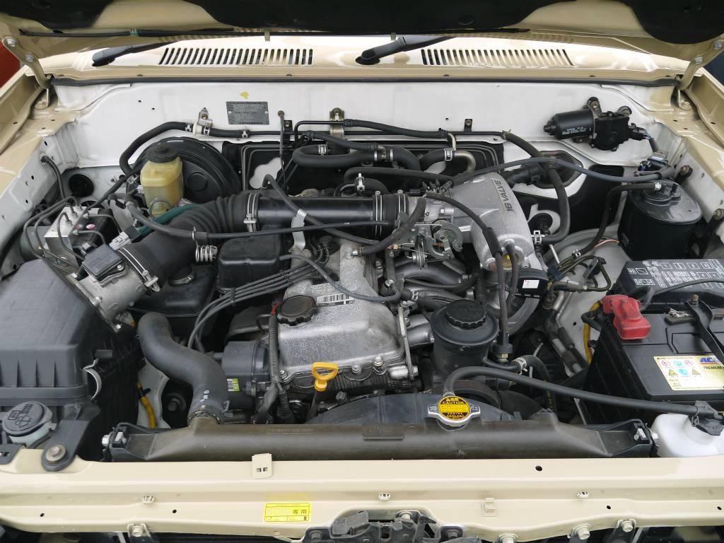 耐久性に優れたエンジンはとっても人気ですよ! | トヨタ ランドクルーザープラド 2.7 TX リミテッド 4WD クラシックスタイル