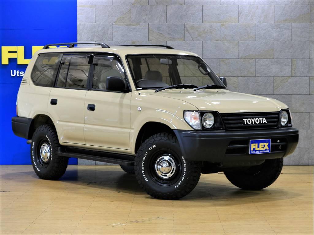 コンパクトサイズでファミリーカーとしてもとっても便利です! | トヨタ ランドクルーザープラド 2.7 TX リミテッド 4WD クラシックスタイル