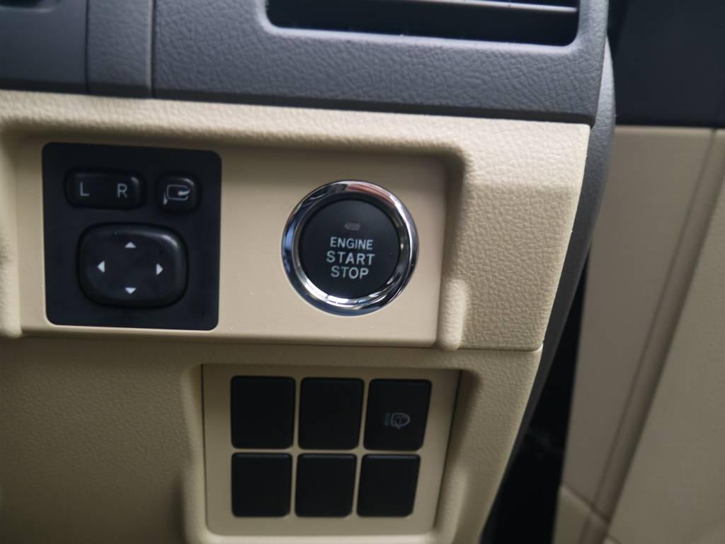 プッシュスタートエンジン   トヨタ ランドクルーザープラド 2.7 TX 4WD ワンオーナー ベージュ内装