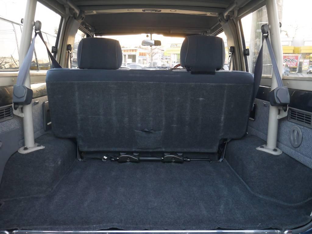 ミドルボディですが荷物もたくさん積むことが出来ますよ♪ | トヨタ ランドクルーザー70 4.2 ZX ディーゼル 4WD