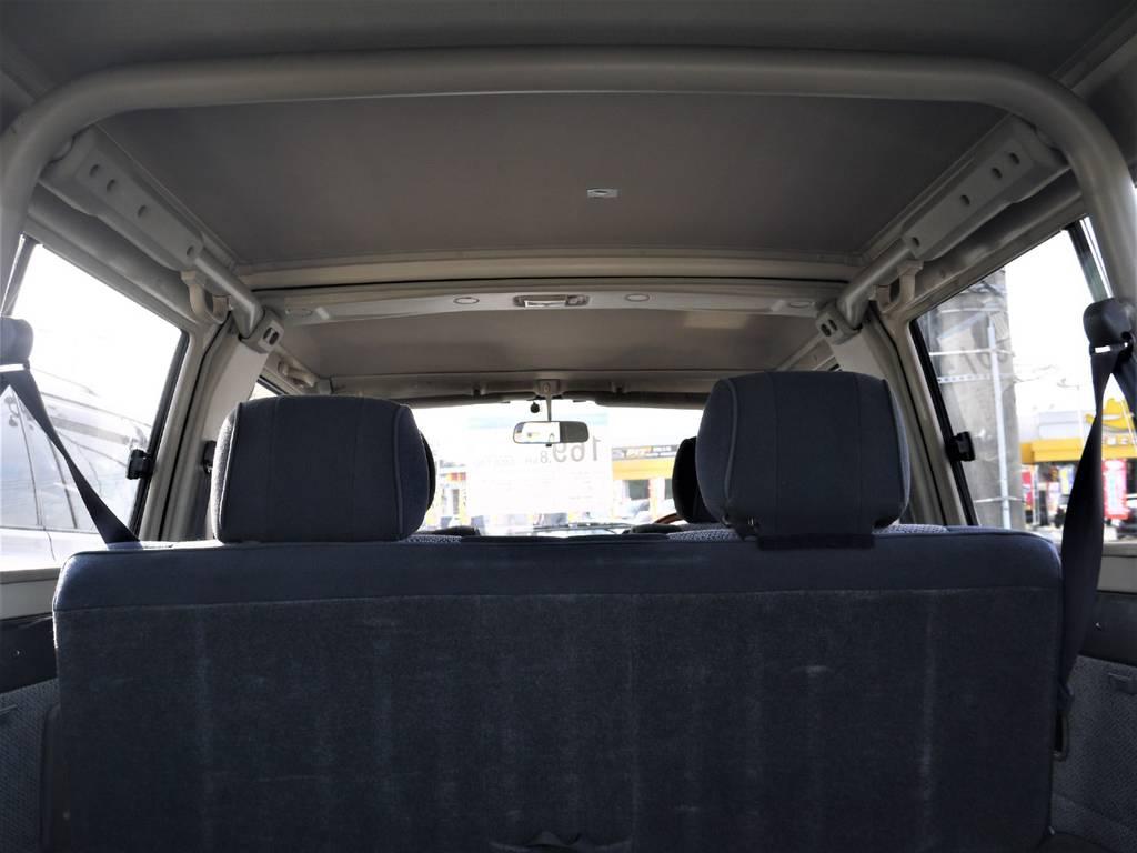 天張りも年式から考えるとキレイに保たれております! | トヨタ ランドクルーザー70 4.2 ZX ディーゼル 4WD