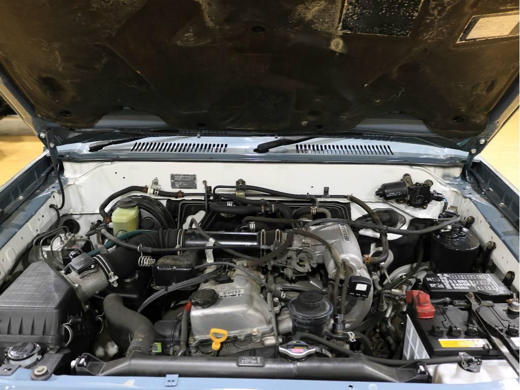 2700ccのエンジン! | トヨタ ランドクルーザープラド 2.7 TX リミテッド 4WD