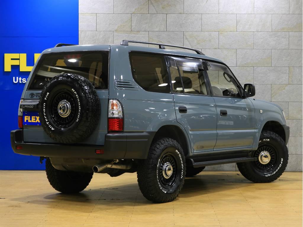 リアゲートは横開きです! | トヨタ ランドクルーザープラド 2.7 TX リミテッド 4WD