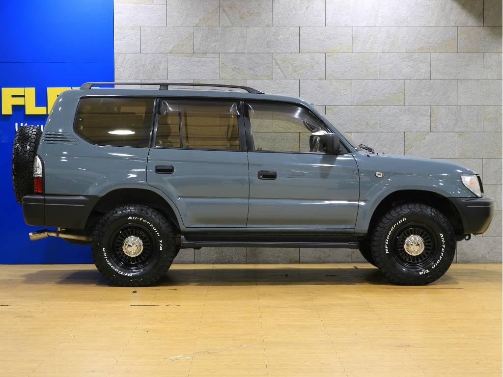 ノーマル車高! | トヨタ ランドクルーザープラド 2.7 TX リミテッド 4WD