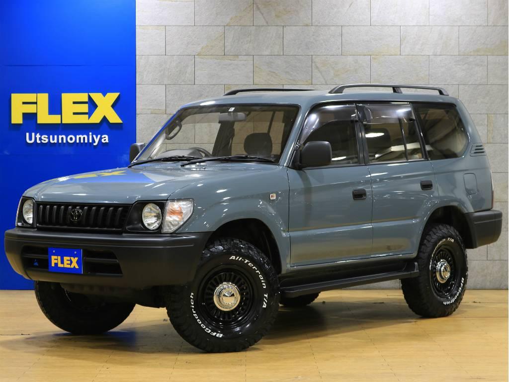 95プラド!NEWオールペイントアンヴィル! | トヨタ ランドクルーザープラド 2.7 TX リミテッド 4WD