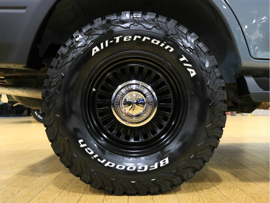 DEANカルフォルニアホイール&BFGオールテレーンタイヤ!   トヨタ ランドクルーザープラド 2.7 TX リミテッド 4WD