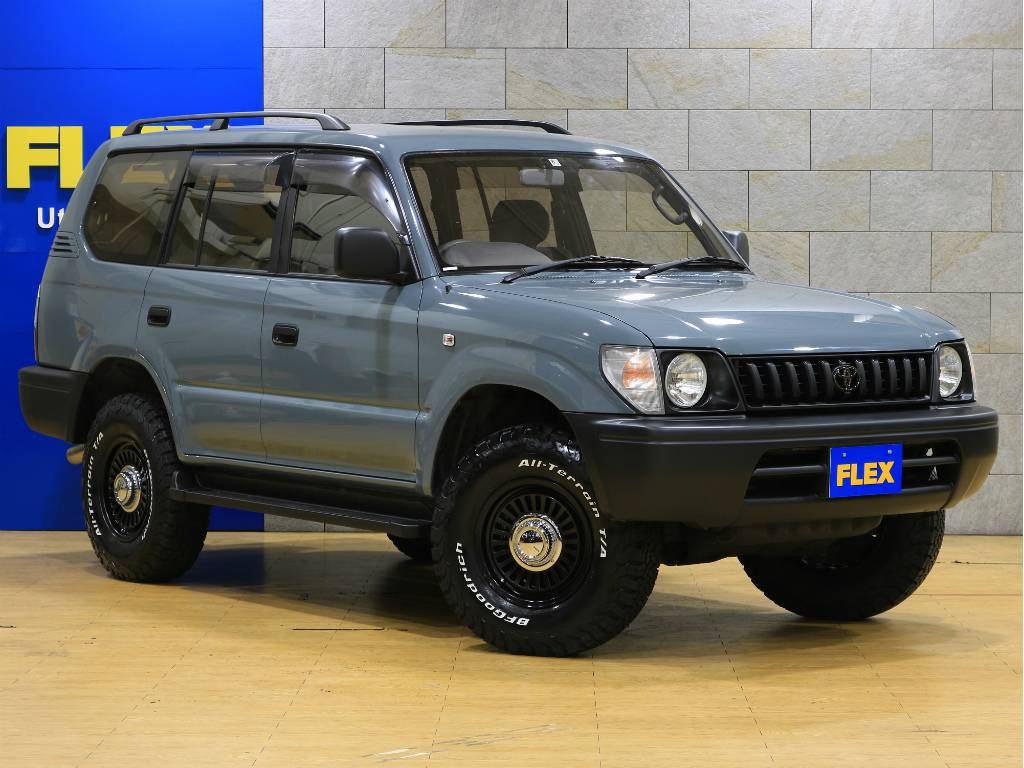 追加カスタムのお問い合わせもお気軽にどうぞ♪   トヨタ ランドクルーザープラド 2.7 TX リミテッド 4WD
