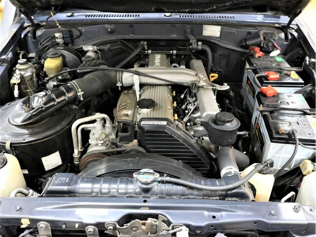 4200ccのディーゼルエンジン!