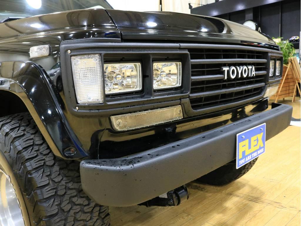 大迫力のフロントフェイス!!   トヨタ ランドクルーザー60 4.0 VX ハイルーフ ディーゼルターボ 4WD