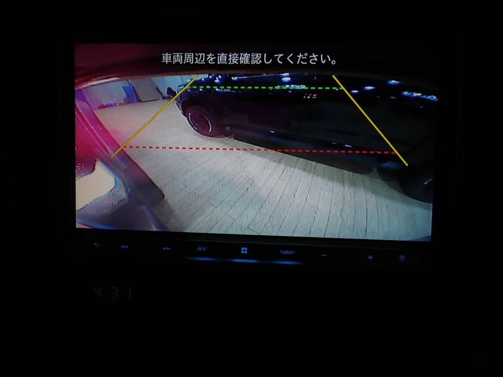 バックカメラもインストール済み!駐車の際も安心ですね♪   トヨタ ランドクルーザー70 4.2 ZX FRPトップ ディーゼル 4WD