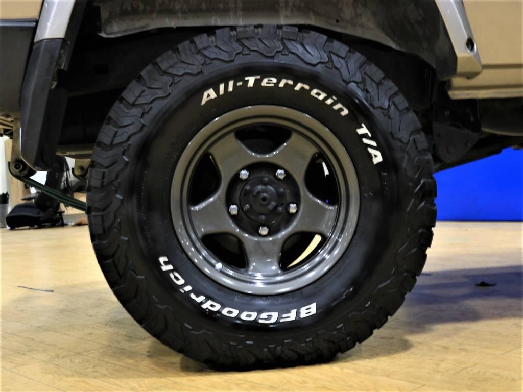 ブラッドレイV&BFGオールテレーンタイヤ!   トヨタ ランドクルーザー70 4.2 ZX FRPトップ ディーゼル 4WD