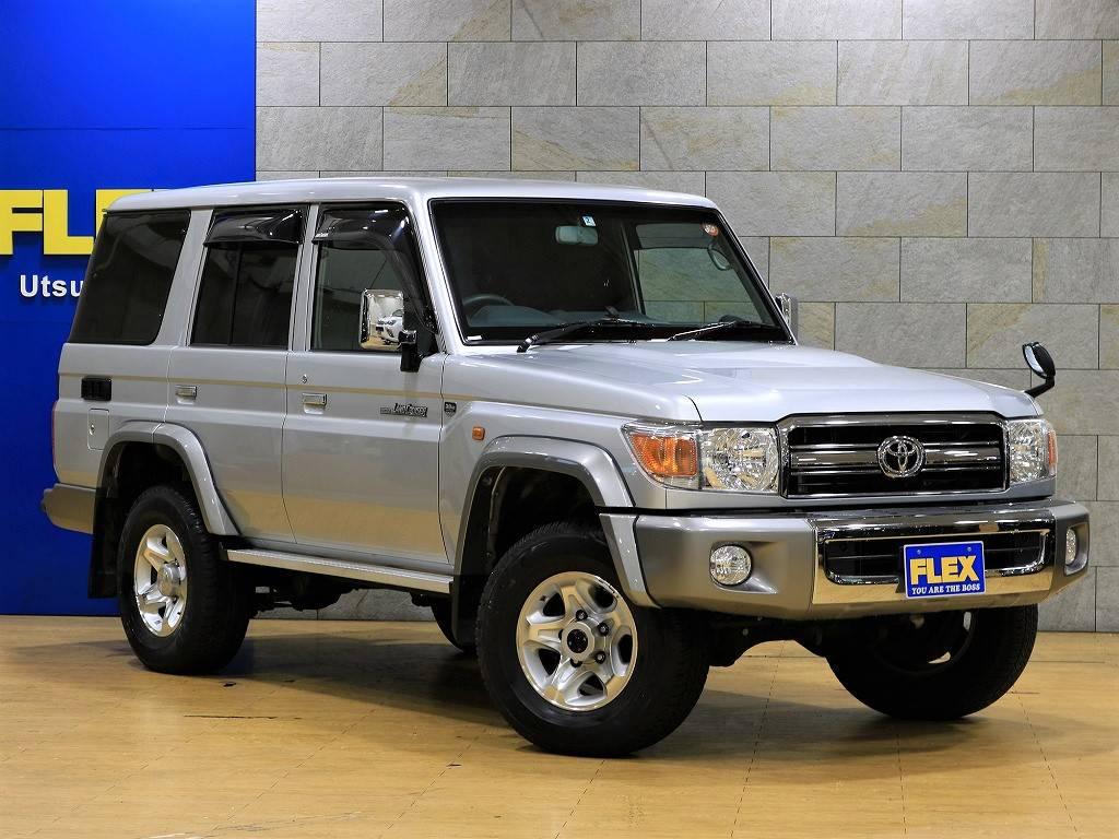 1ナンバー登録車ですので、自動車税も年間で12300円ですね! | トヨタ ランドクルーザー70
