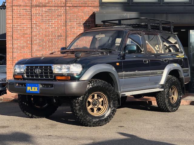 トヨタ ランドクルーザー80 4.2 VX ディーゼルターボ 4WD 前後デフロック ルーフラック