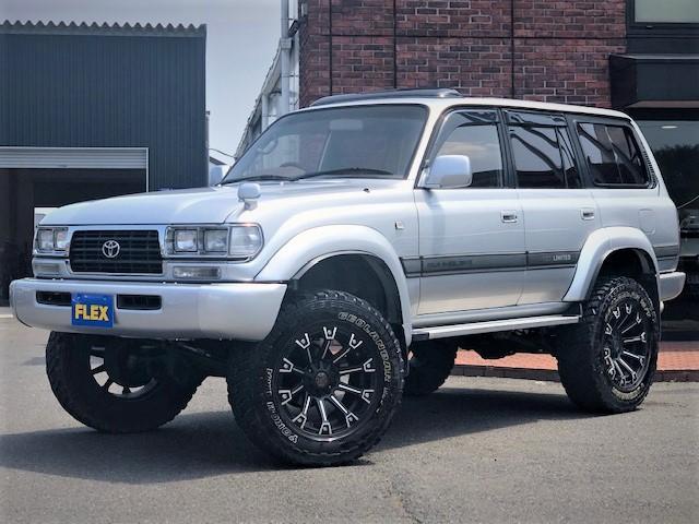   トヨタ ランドクルーザー80 4.5 VXリミテッド 4WD 5インチアップ 角目四灯