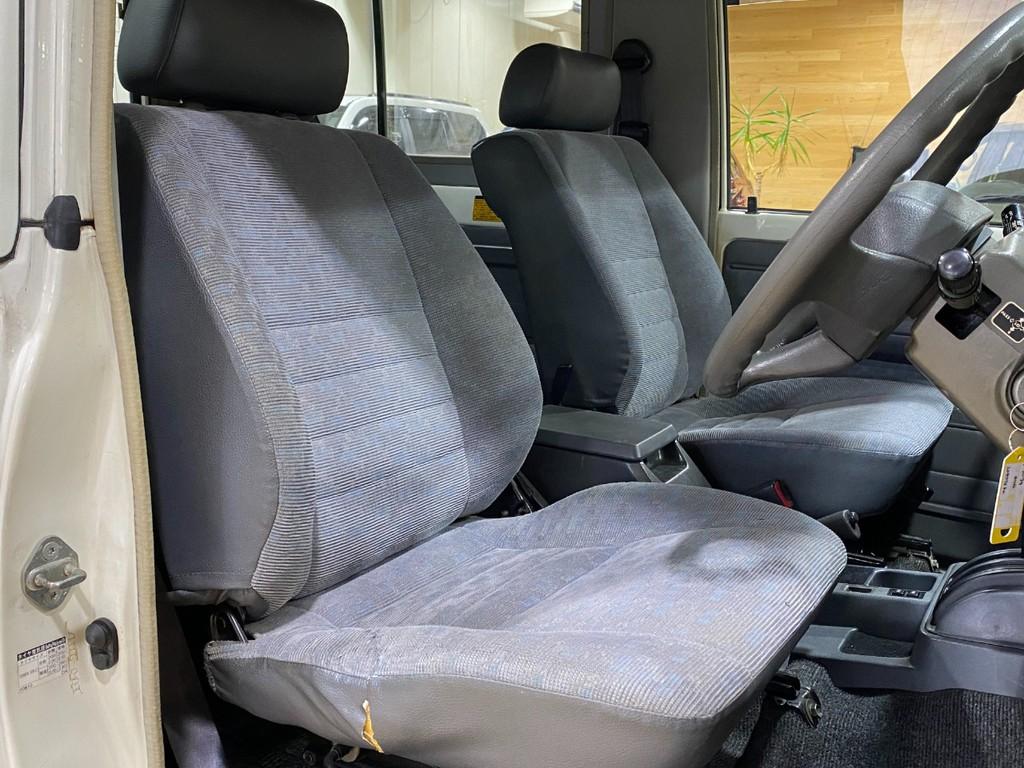 運転席/助手席の状態もまだまだ序の口です!