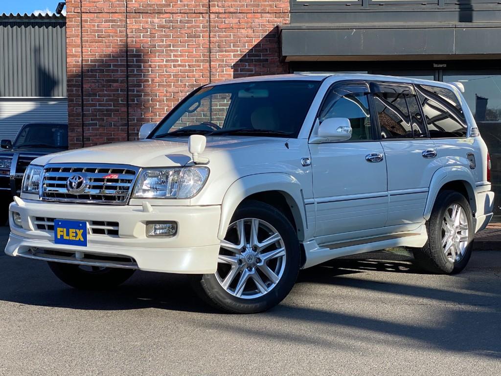トヨタ ランドクルーザー100 4.7 VXリミテッド 4WD マルチレス 22インチAW