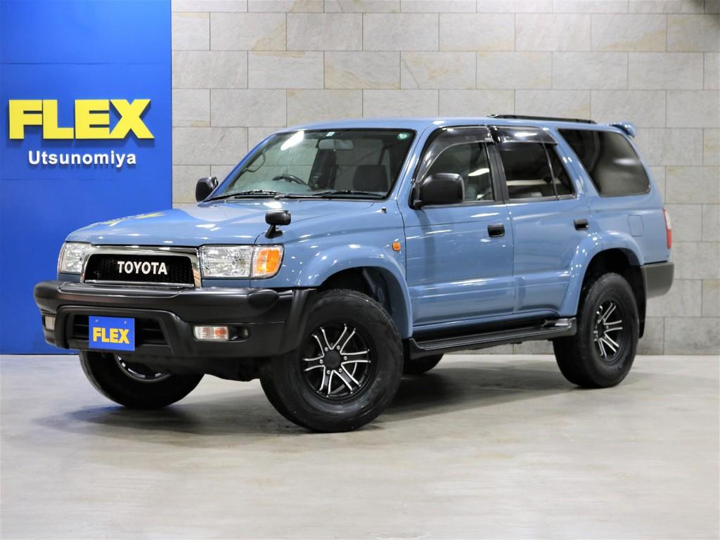 トヨタ ハイラックスサーフ 2.7 SSR-X 4WD 背面タイヤ付き
