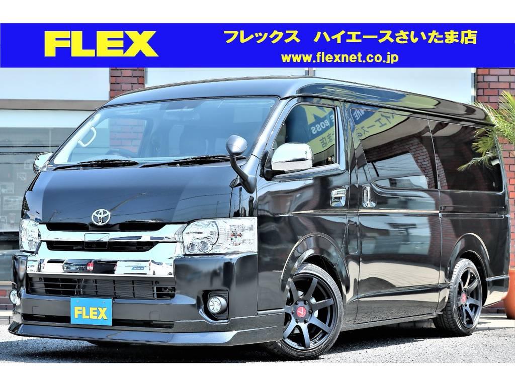 新車 ハイエースワゴン GL!話題のトヨタセーフティセンスP付き!ナビパッケージ!