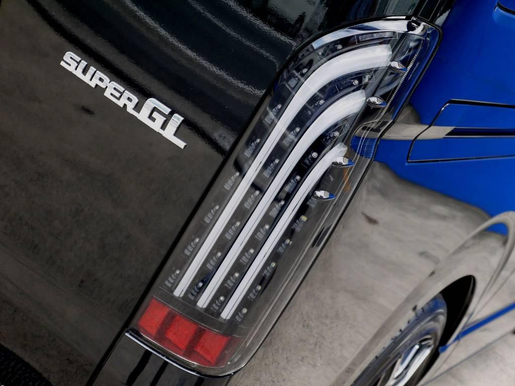 415COBRA BADテールをセット!! | トヨタ ハイエースバン 2.8 スーパーGL ロング ディーゼルターボ ベットキットパッケージ
