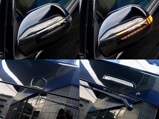 ドアミラーウインカー装着済!!ハイマウントも変更してますよ☆   トヨタ ハイエースバン 2.7 スーパーGL ワイド ロング ミドルルーフ ブラックカスタム