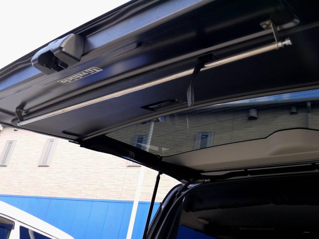 ハンガーレールもついてます☆ | トヨタ レジアスエース 2.7 スーパーGL ワイド ミドルルーフ ロングボディ 4WD アウトドアパッケージ