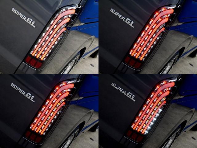 フレックスオリジナル 煌ブラックLEDテールをセット!! | トヨタ レジアスエース 2.7 スーパーGL ワイド ミドルルーフ ロングボディ 4WD アウトドアパッケージ