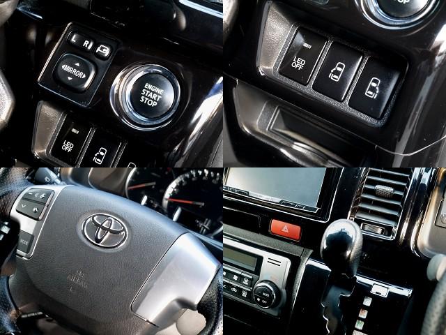 メーカーオプションが充実!! | トヨタ ハイエースバン 3.0 スーパーGL ロング ディーゼルターボ ブラックカスタム