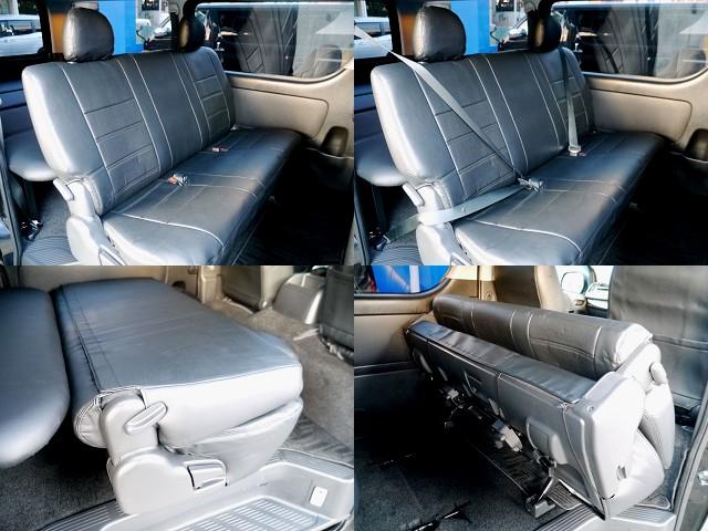 全席シートカバー装着!! | トヨタ ハイエースバン 3.0 スーパーGL ロング ディーゼルターボ ブラックカスタム
