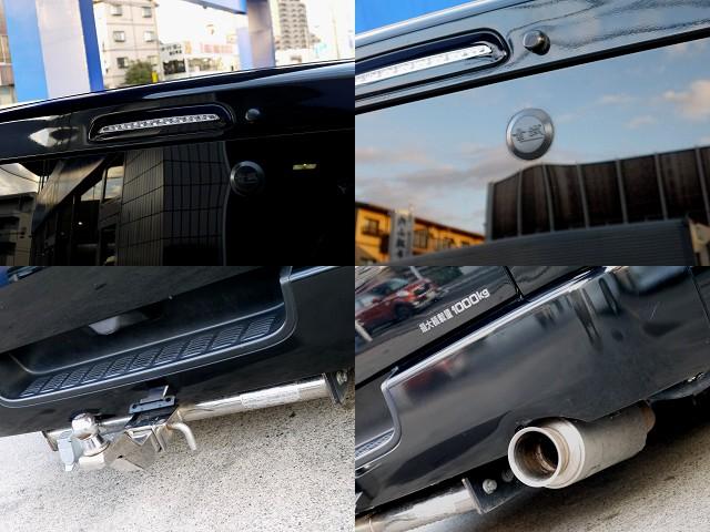 細かなところまでカスタムパーツが盛りだくさん!! | トヨタ ハイエースバン 3.0 スーパーGL ロング ディーゼルターボ ブラックカスタム