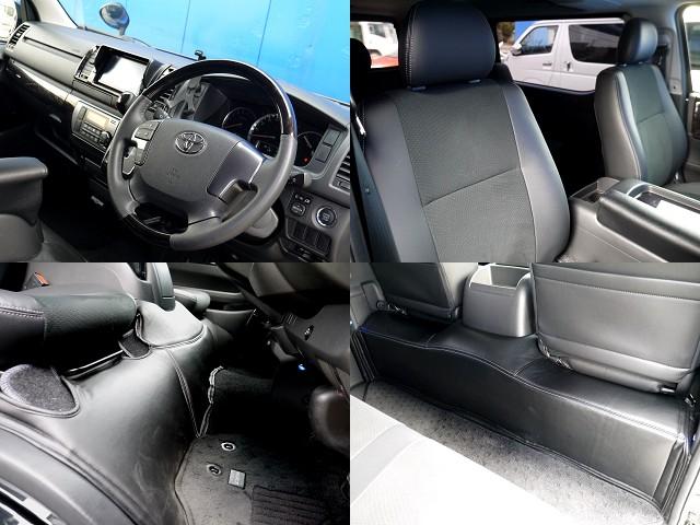 特別仕様車ならではのインテリア!!フロント&リアデッキマット装着!! | トヨタ ハイエースバン 2.0 スーパーGL ダークプライム ロングボディ ブラックカスタムパッケージ