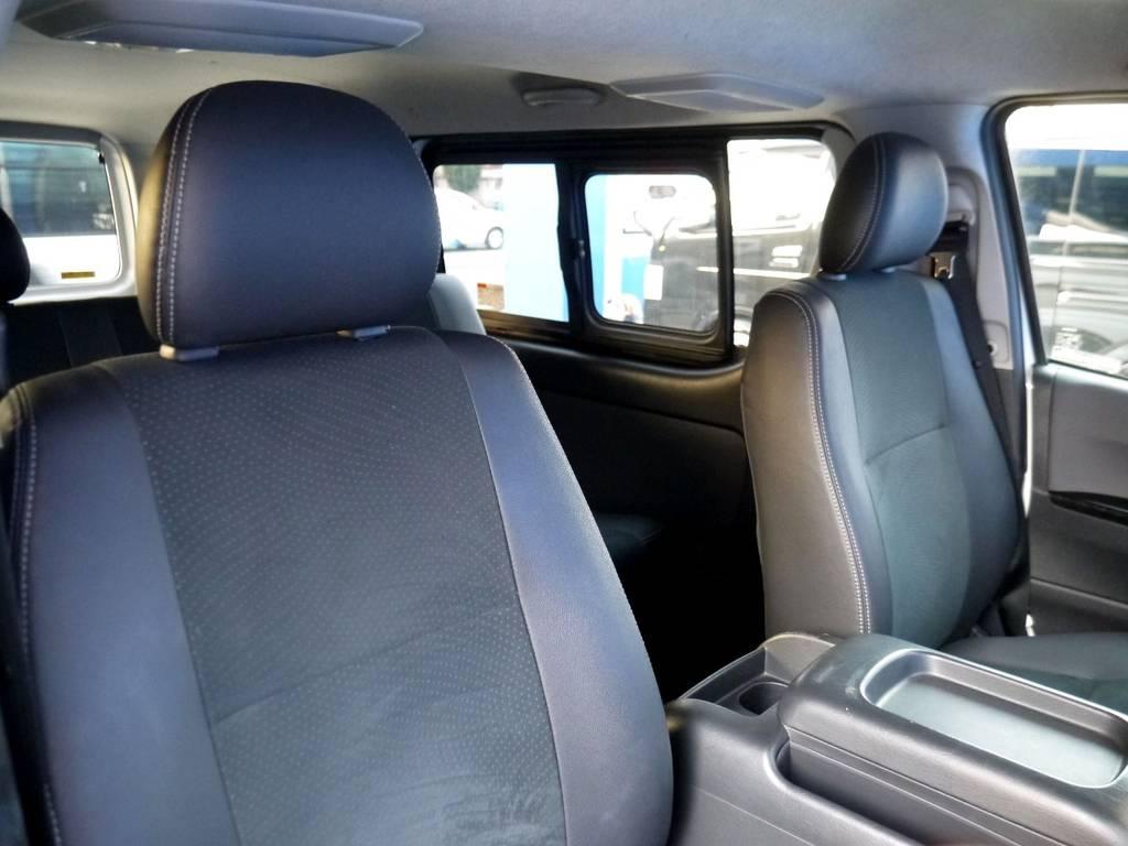 ダークプライム専用シート!! | トヨタ レジアスエース 3.0 スーパーGL  ダークプライム ロングボディ ディーゼルターボ ライトカスタムパッケージ