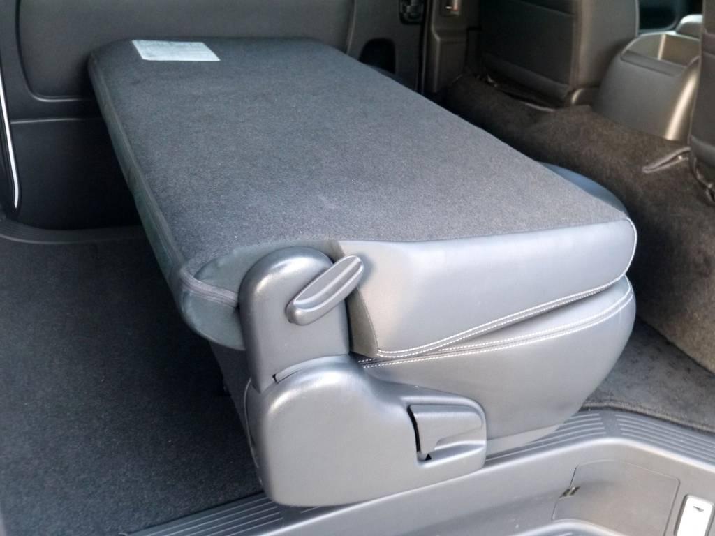 セカンドシートは格納できますよ☆ | トヨタ レジアスエース 3.0 スーパーGL  ダークプライム ロングボディ ディーゼルターボ ライトカスタムパッケージ
