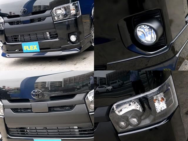 メーカーオプション LEDヘッドライトや純正グリルはマッドブラックペイント!!