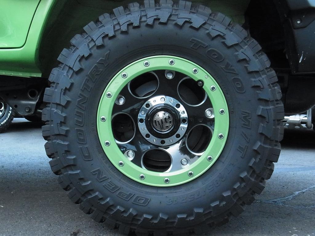 新品アルミホイールクリムソンMGデーモン! | トヨタ ランドクルーザープラド 2.7 TX リミテッド 4WD COLORBOMB グリーン
