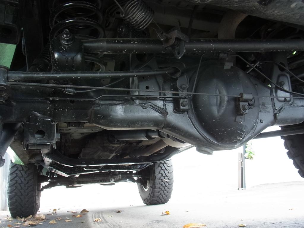 足回りは高圧洗浄&防錆塗装後にご納車致します! | トヨタ ランドクルーザープラド 2.7 TX リミテッド 4WD COLORBOMB グリーン