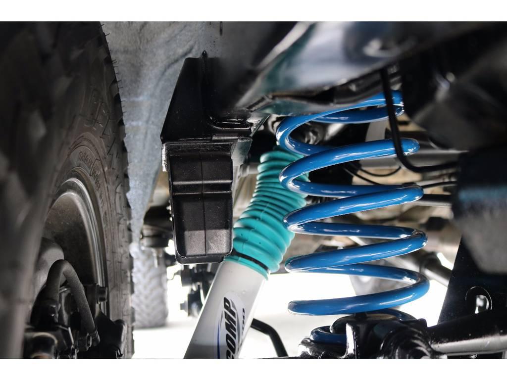 【新品】PROCOMPショックアブソーバー&FLEXオリジナルコイルスプリング! | トヨタ ランドクルーザープラド 2.7 TX リミテッド 4WD COLORBOMB グリーン