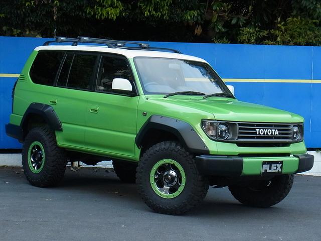 FLEXoriginal78フェイス換装! | トヨタ ランドクルーザープラド 2.7 TX リミテッド 4WD COLORBOMB グリーン
