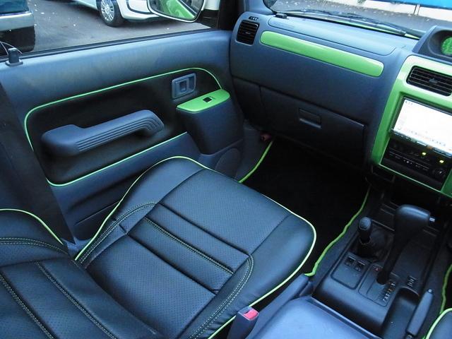 ドア内張も張り替えています! | トヨタ ランドクルーザープラド 2.7 TX リミテッド 4WD COLORBOMB グリーン
