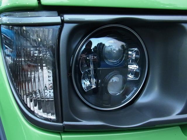 新品LEDヘッドライト | トヨタ ランドクルーザープラド 2.7 TX リミテッド 4WD COLORBOMB グリーン