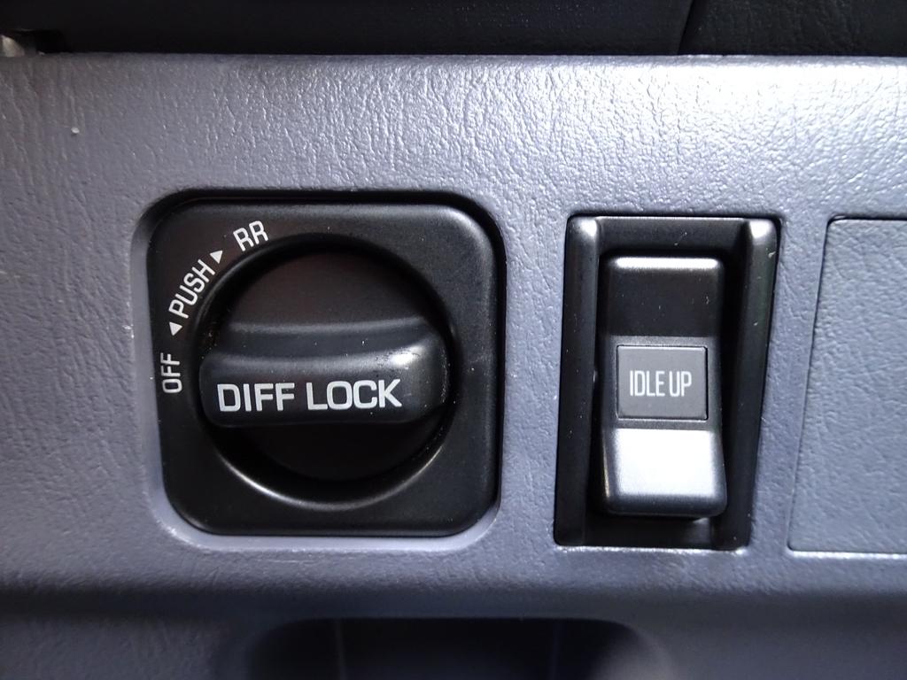 オプション前後デフロック装備です!! | トヨタ ランドクルーザープラド 3.0 TX ディーゼルターボ 4WD