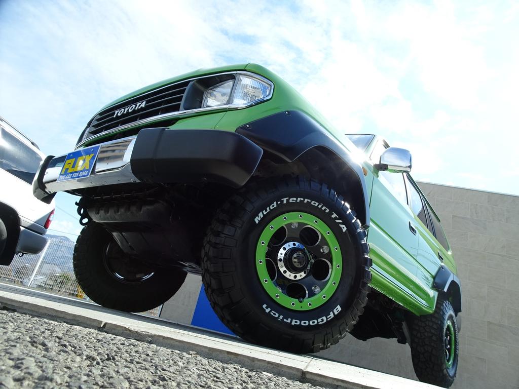 デザインの極みです!! | トヨタ ランドクルーザープラド 3.0 TX ディーゼルターボ 4WD