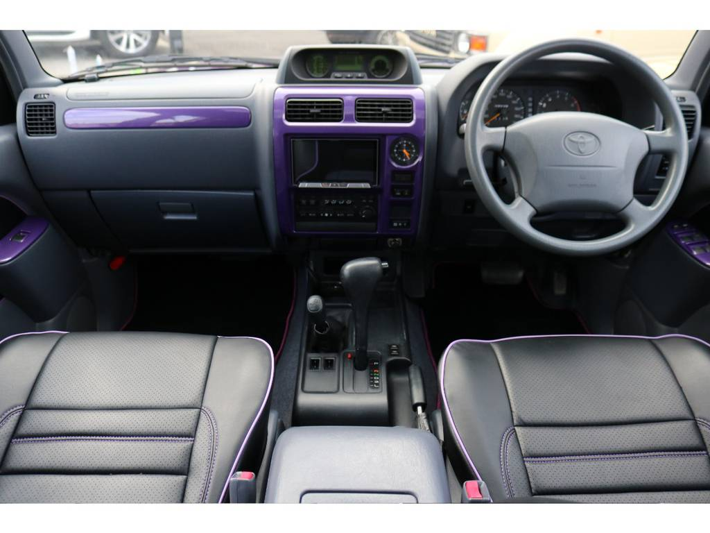 | トヨタ ランドクルーザープラド 2.7 TX リミテッド 4WD COLORBOMB パープル