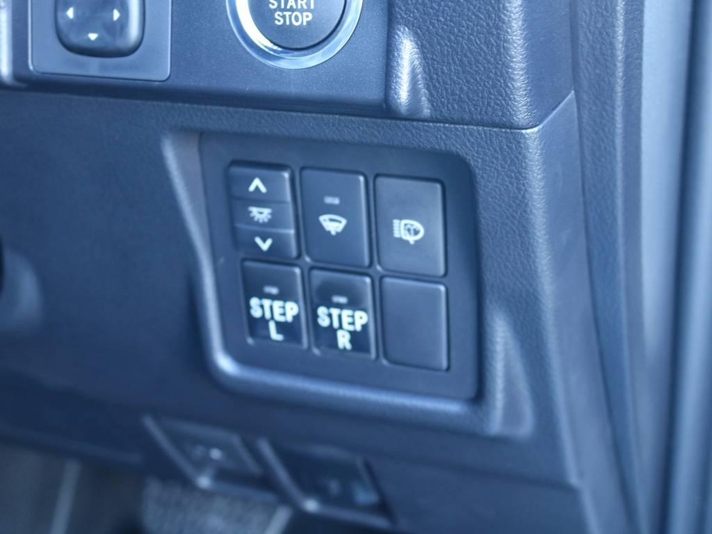 オプション電動ステップで快適に乗り降り可能!   トヨタ ランドクルーザープラド 2.7 TX Lパッケージ 4WD 新車未登録 モデリスタエアロ
