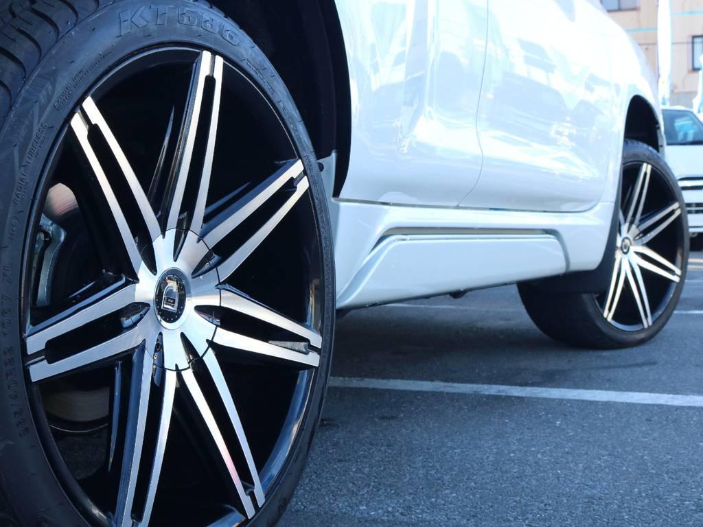 レグザーニ22インチホイール新品装着済み!   トヨタ ランドクルーザープラド 2.7 TX Lパッケージ 4WD 新車未登録 モデリスタエアロ